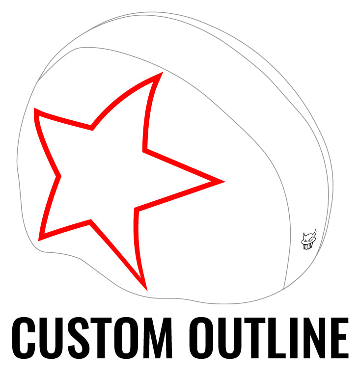 OUTLINE: Non-Sublimated Jammer Helmet Panty