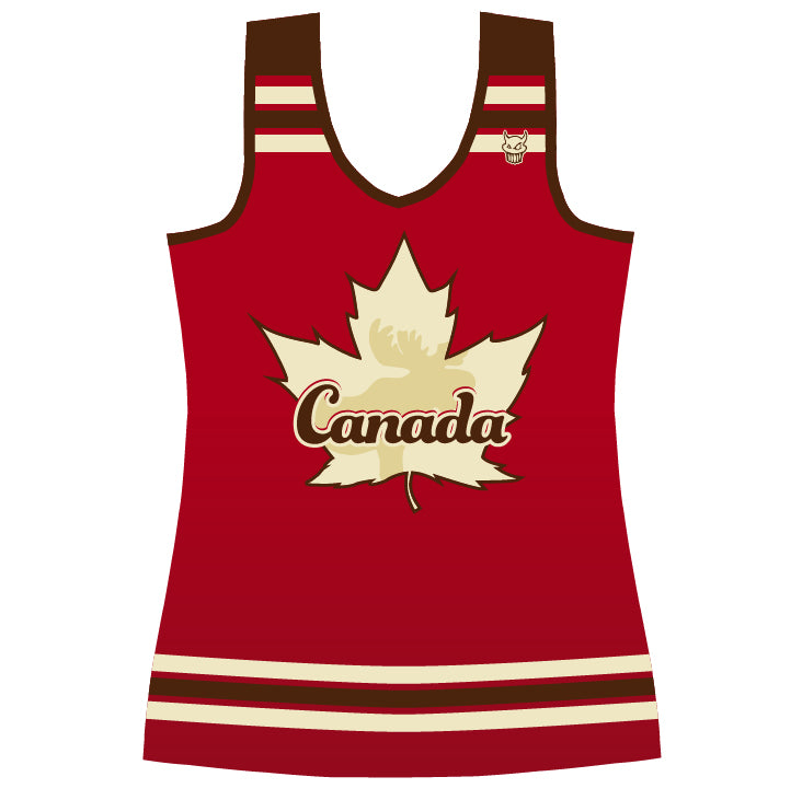 Cheer Canada Full Back Jersey