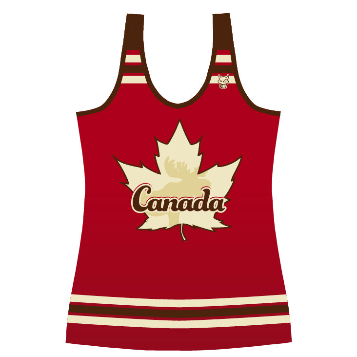 Cheer Canada Racer Back Jersey