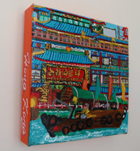 "Load image into Gallery viewer, Acrylic Painting ""Jumbo Kingdom"""