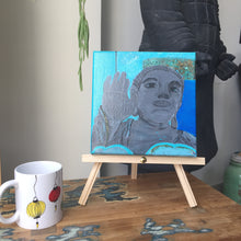 "Load image into Gallery viewer, Acrylic Painting ""Tian Tan Buddha"""
