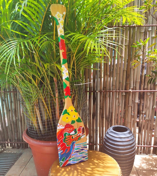 Decorative Paddle - Dragon Boat (1)