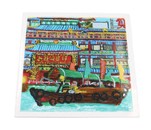 "Load image into Gallery viewer, Greetings Cards ""Jumbo floating restaurant"""
