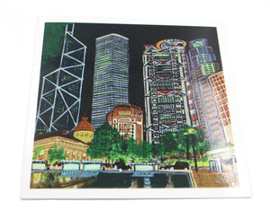 "Greetings Cards ""Statue Square"""