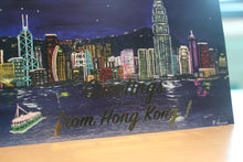 "Load image into Gallery viewer, Greetings Cards ""Greetings from Hong Kong"""