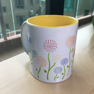 Hand Paint On Ceramic Mug - Workshop