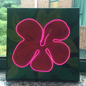 Acrylic & Neon lights - Workshop