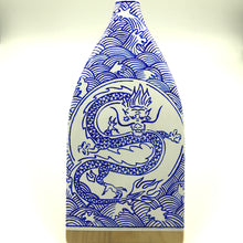 Load image into Gallery viewer, Decorative Paddle - Porcelain Dragon