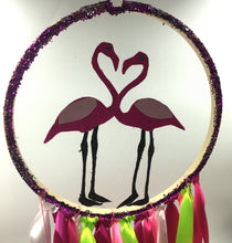 Load image into Gallery viewer, Flamingo Dreamcatcher