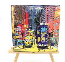 "Load image into Gallery viewer, Acrylic Painting ""Tram road"""