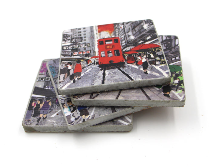 Coasters - Handmade cement coasters
