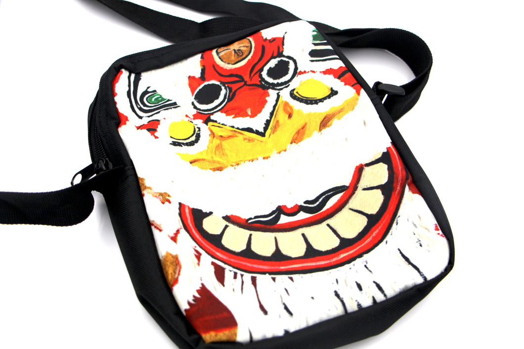 Mini Hand Bag - Lion Dance