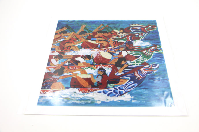 Dragon Boat Race - Art Print