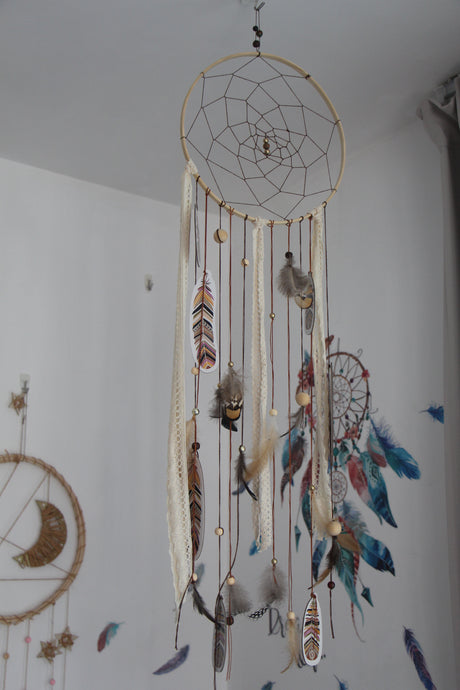Wooden Dreamcatcher
