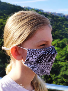 "Face mask ""OCEANIDE"" with filter reusable washable"