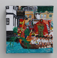 "Load image into Gallery viewer, Acrylic Painting ""Dragon Boat Race"""