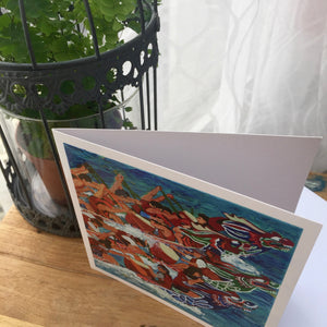 "Greetings Cards ""Dragon Boat Race"""
