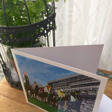 "Load image into Gallery viewer, Greetings Cards ""Happy Valley Horse course"""