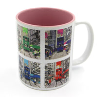 "Load image into Gallery viewer, Mugs ""Hong Kong Trams"" - Printed"
