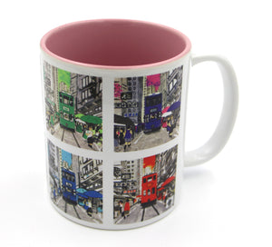 "Mugs ""Hong Kong Trams"" - Printed"