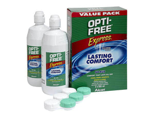 Opti-free express twin pack