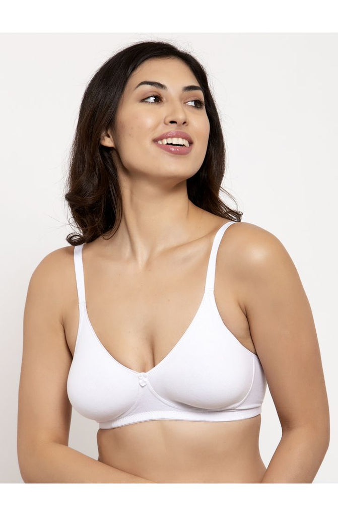 Moulded Cup T-Shirt Bra - White