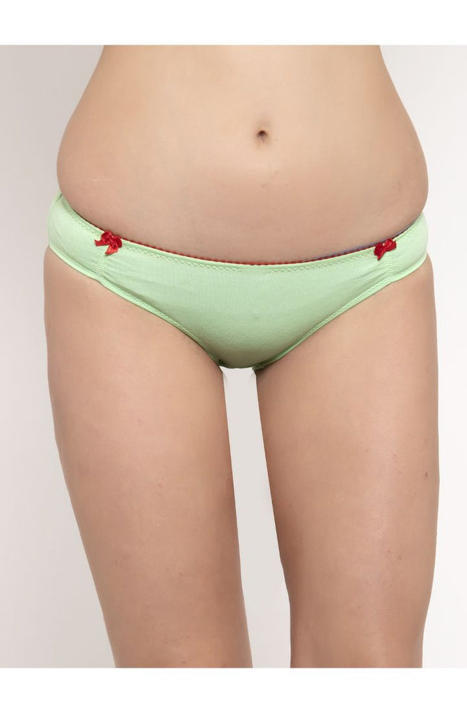 Buy Pista Carrot Red Bikini Brief 2 PC Pack