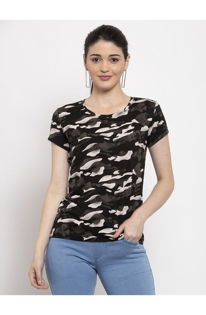 Military Black shirts for women