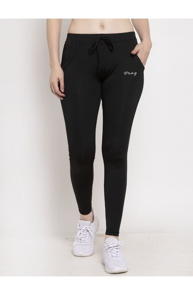 Black yoga pants for women