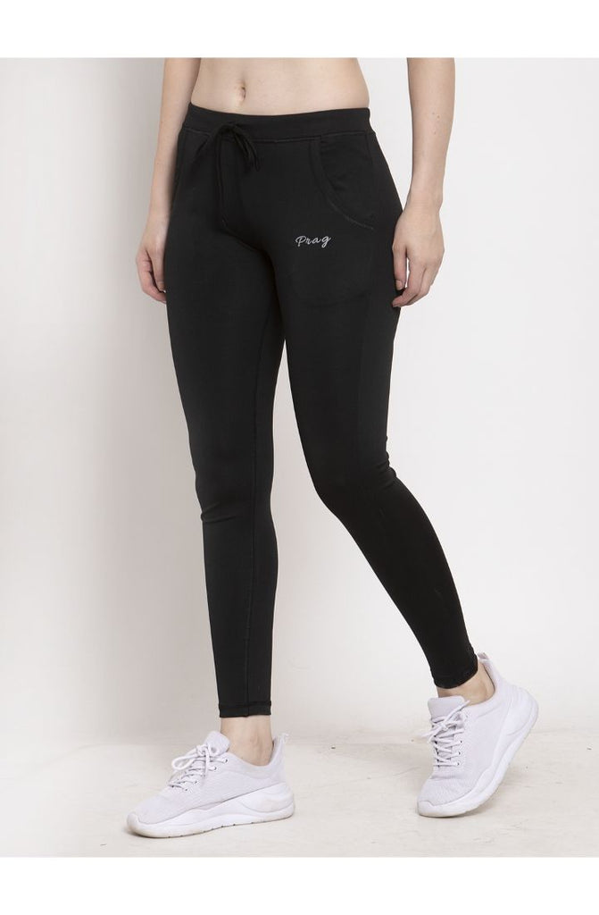 Women black yoga wear