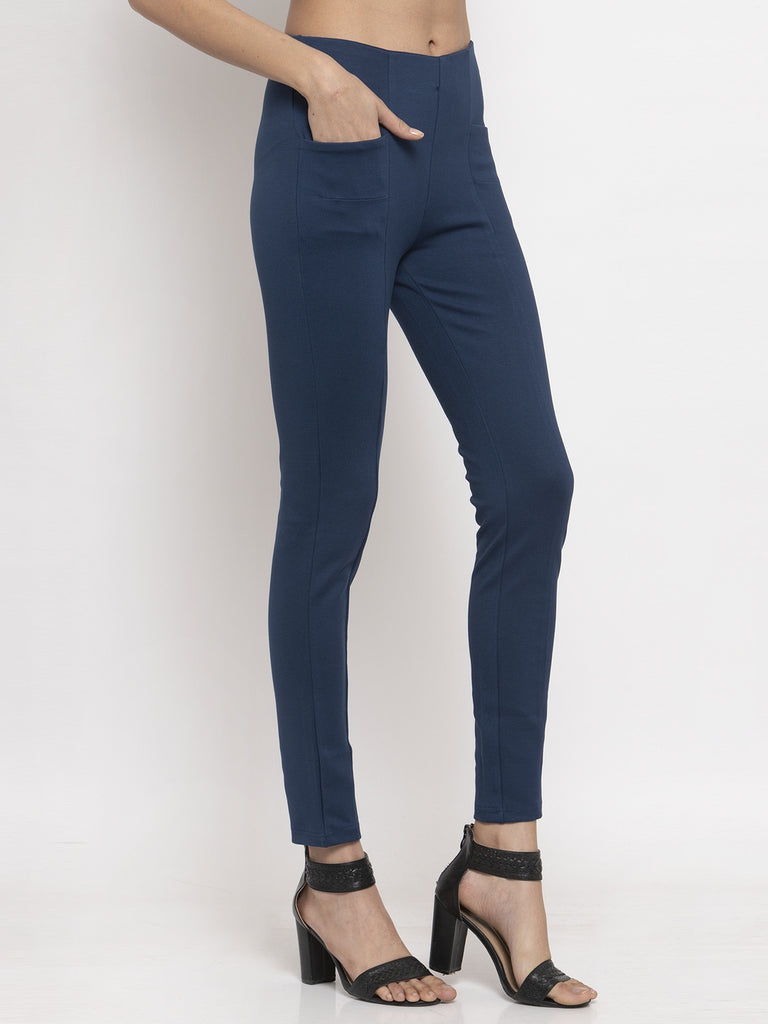 Shop For Airforce Blue Trouser Pant Online