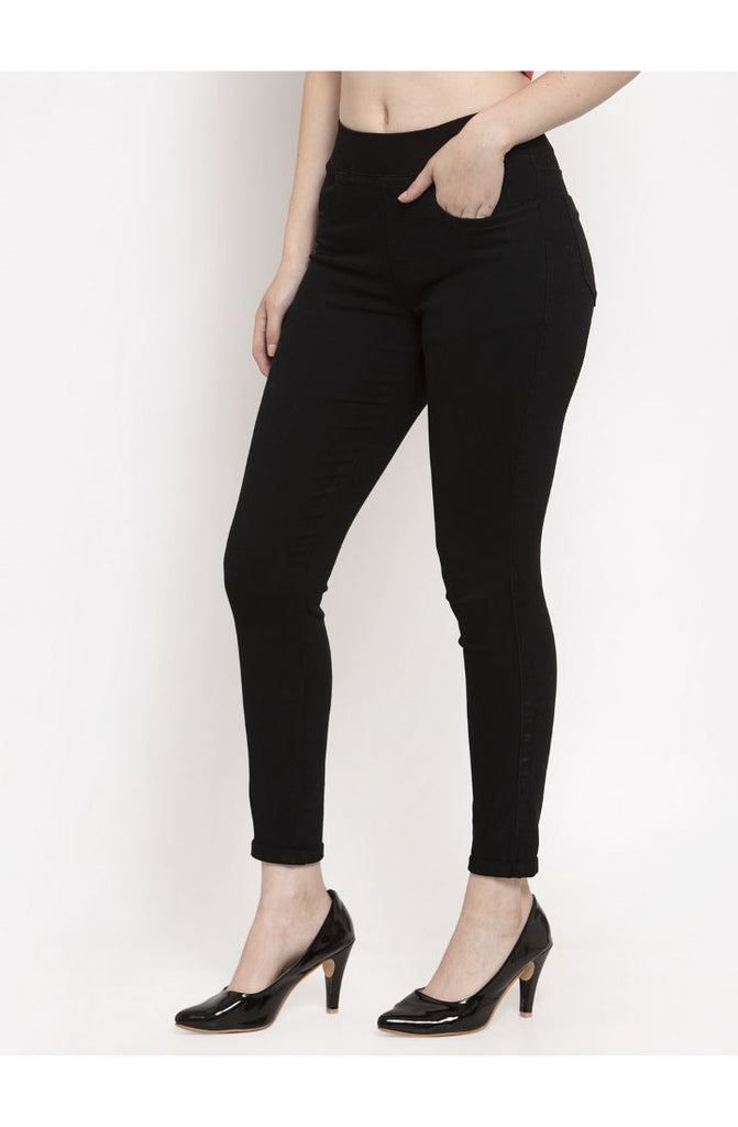 denim jeggings for ladies