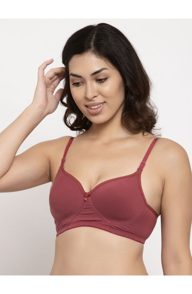Women Brick Light Padded Bra