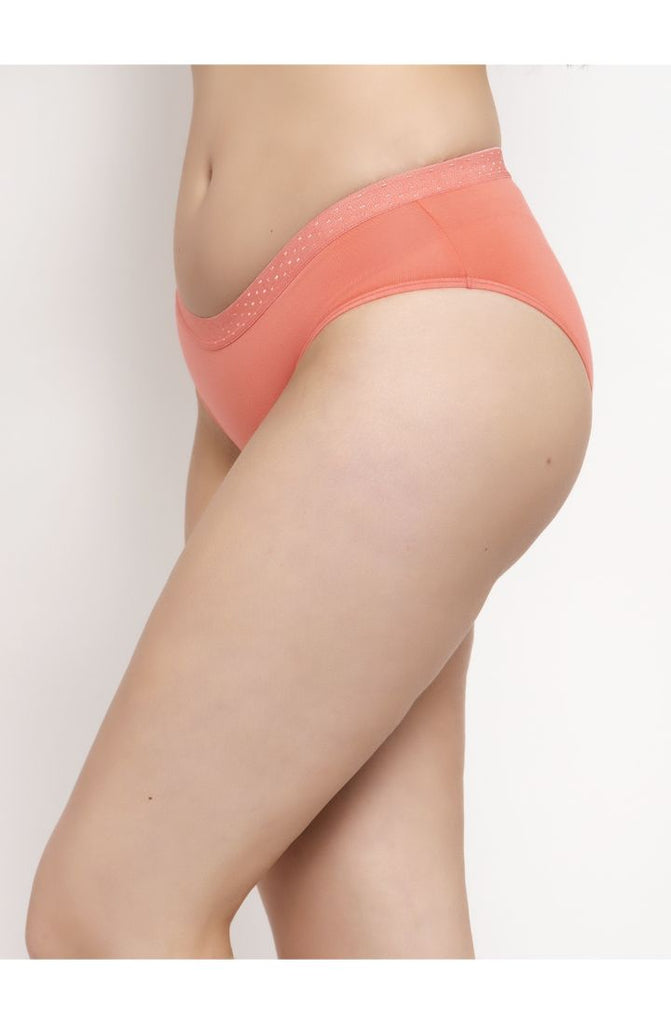 Order Online Peach Hipster Brief 3 PC Pack Solid Colors