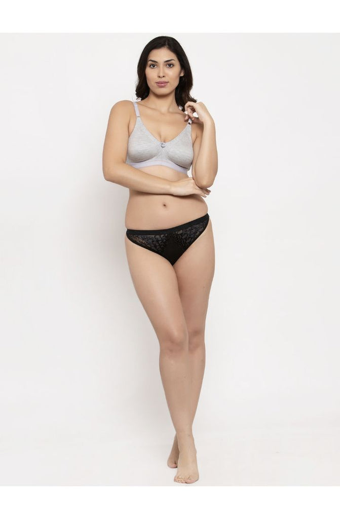 Grey Minimizer Bra