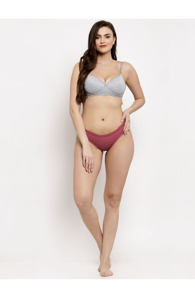 buy Wine brown panties online india
