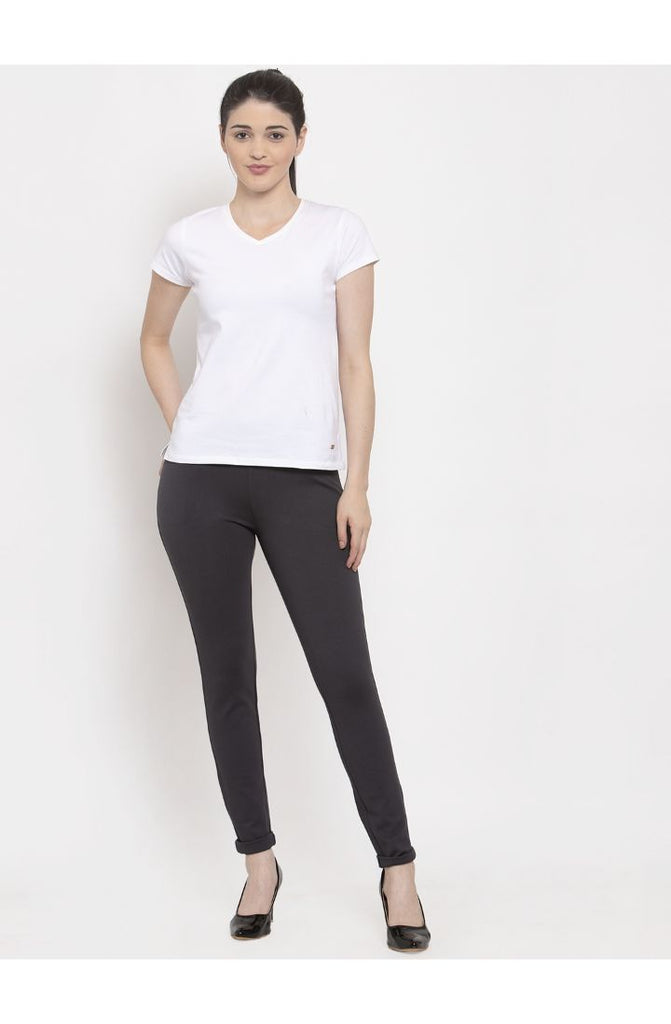 Buy Dark Grey trousers for girl Online