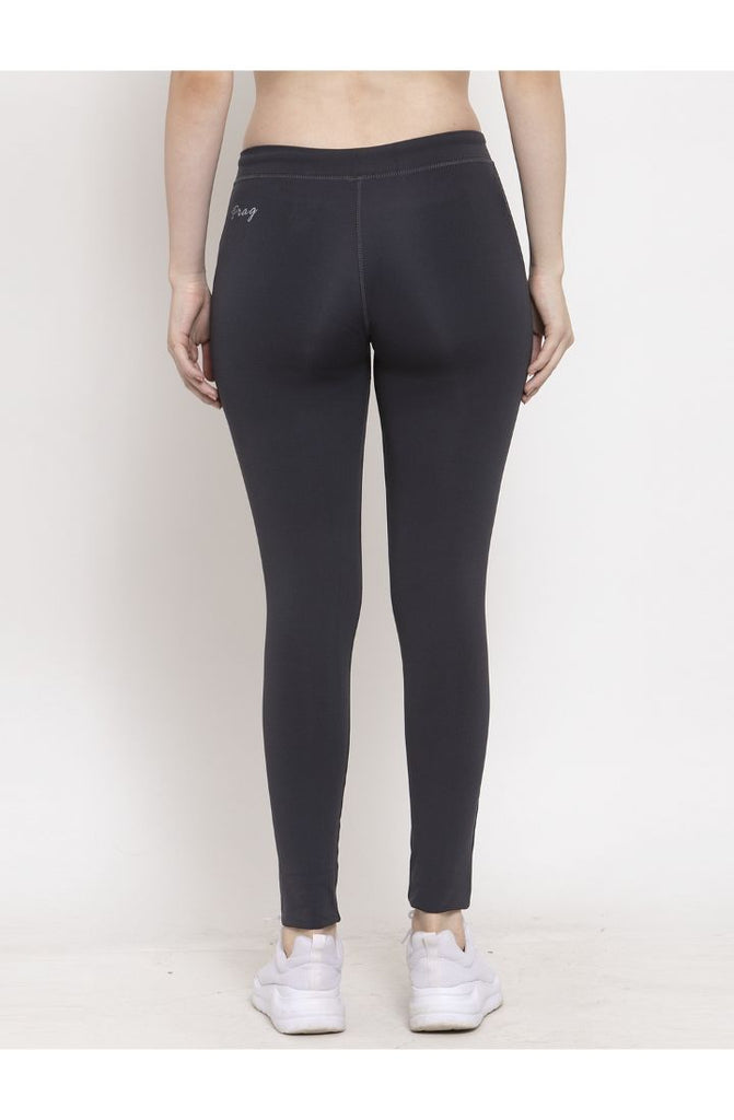 Dark Grey Dry-Fit Yoga Pant