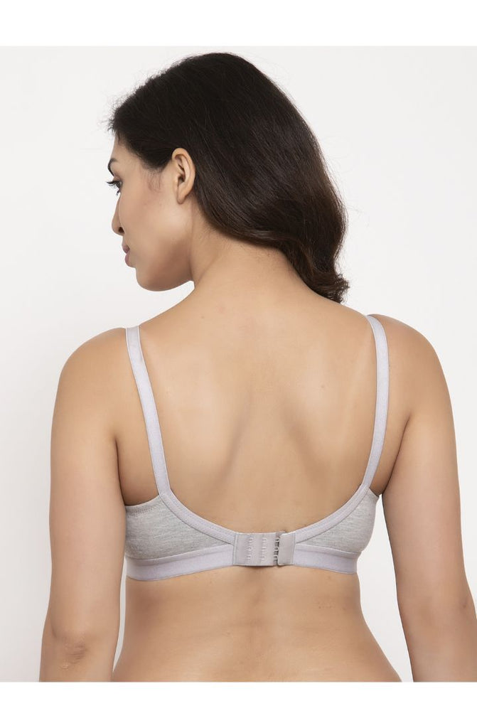 Women Grey Minimizer Bra