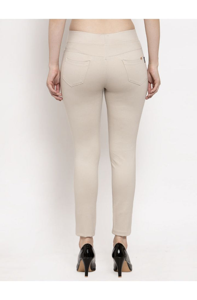 Order Beige Narrow Fit Trouser Pant Online