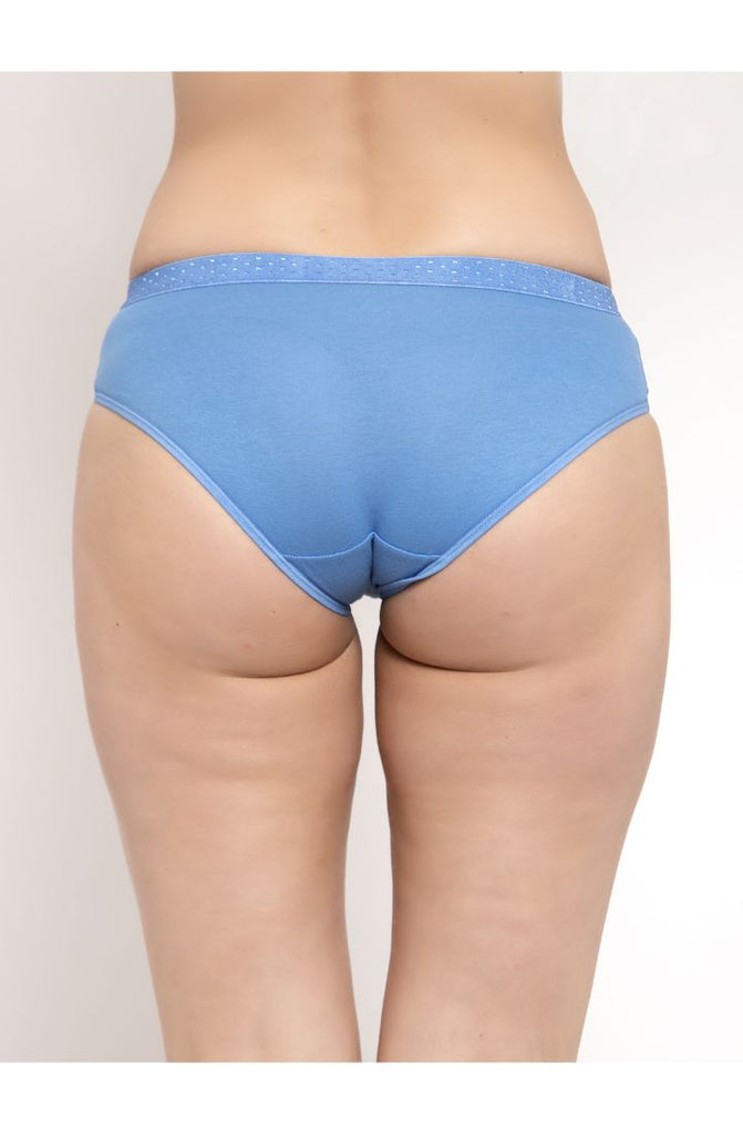 Pacific Blue Hipster Brief 3 PC Pack Solid Colors