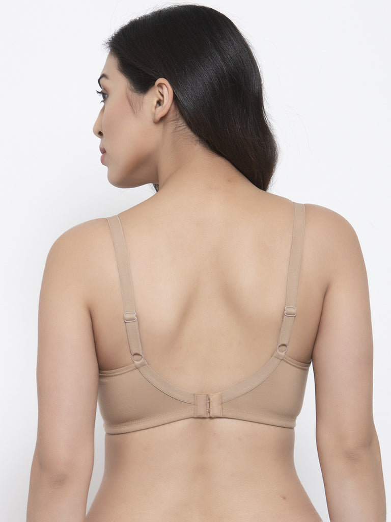 Nude Total Support Minimizer Bra for Women