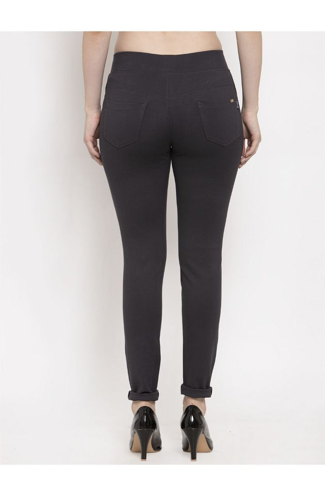 Dark Grey women trouser pant