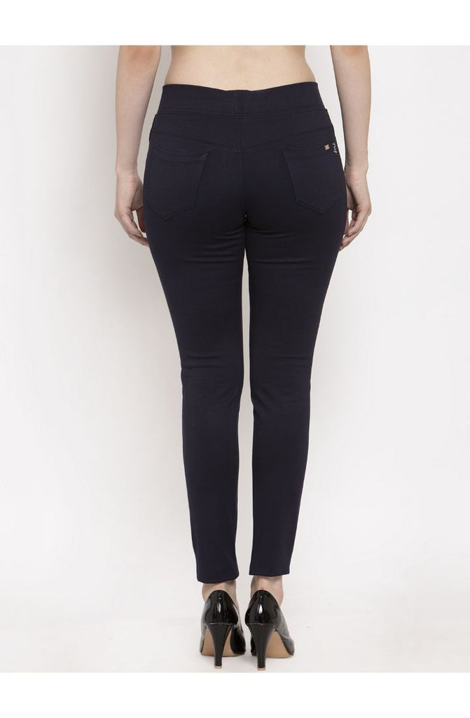 Shop for Navy ladies pants online
