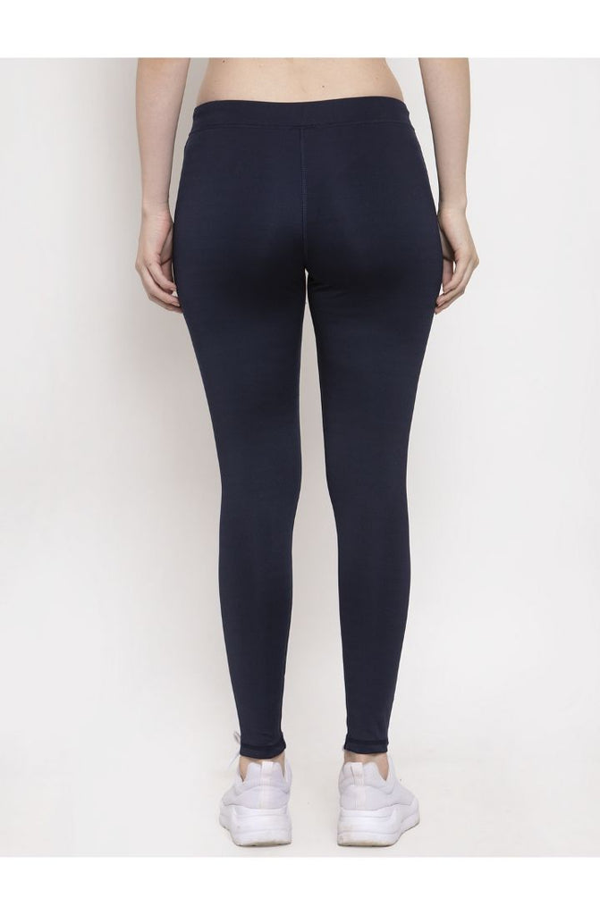 Prag & Co. Navy yoga track pants