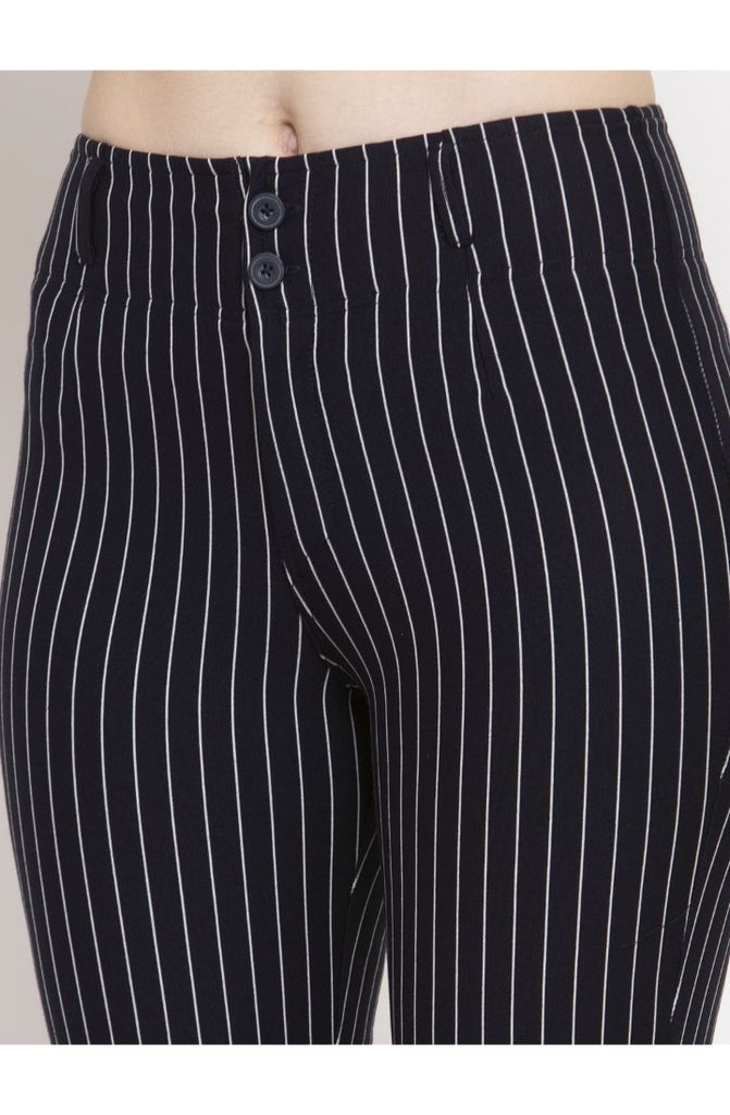 Navy Trouser Pant for Women