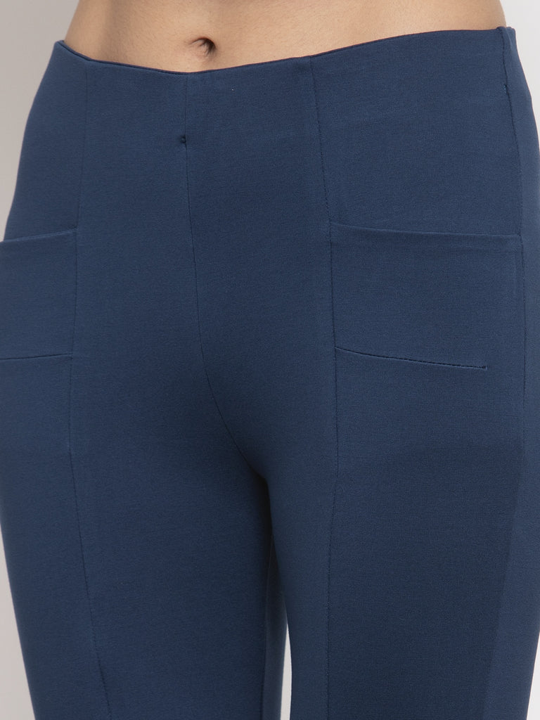 Airforce Blue Trouser Pant Narrow Fit