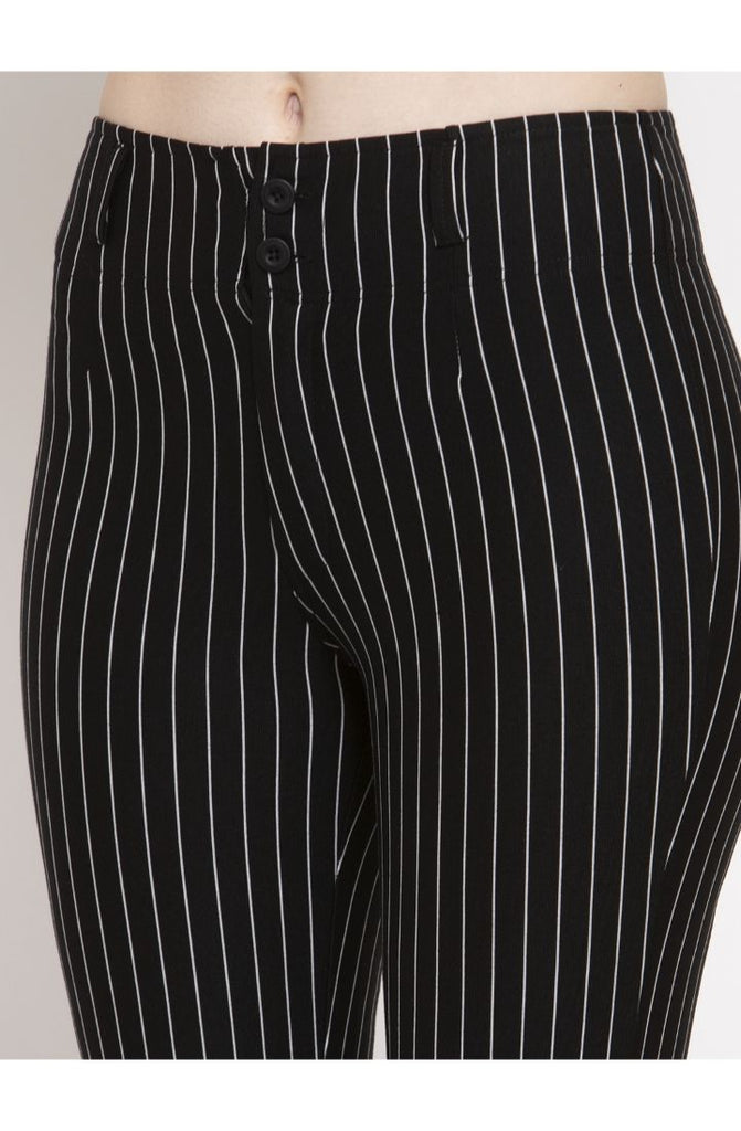 Black trouser pant for girl