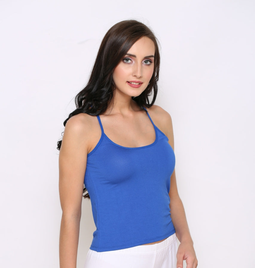 Right Side Modal Camisole With Blue Color