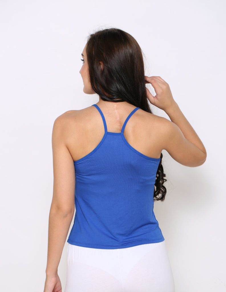 Back Side Modal Camisole With Blue Color